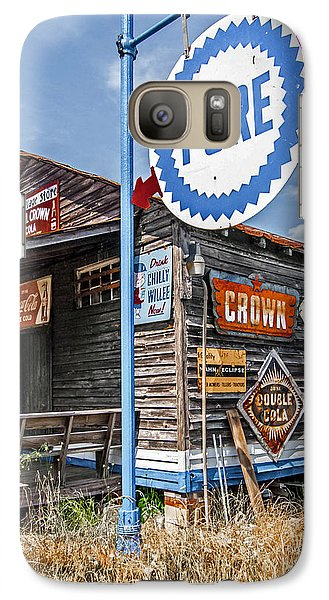 Galaxy Case featuring the photograph Old General Store by Marion Johnson