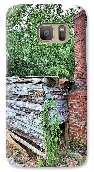 Galaxy Case featuring the photograph Old Georgia Smokehouse by Gordon Elwell