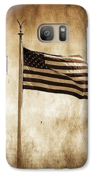 Galaxy Case featuring the photograph Old Glory by Aaron Berg