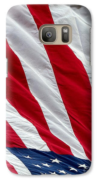 Galaxy Case featuring the photograph Old Glory by Robert Riordan