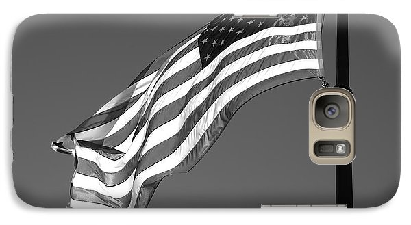 Galaxy Case featuring the photograph Old Glory by Ron White
