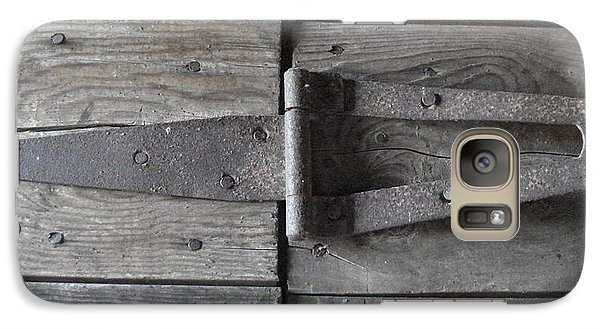 Galaxy Case featuring the photograph Old Hinge by J L Zarek