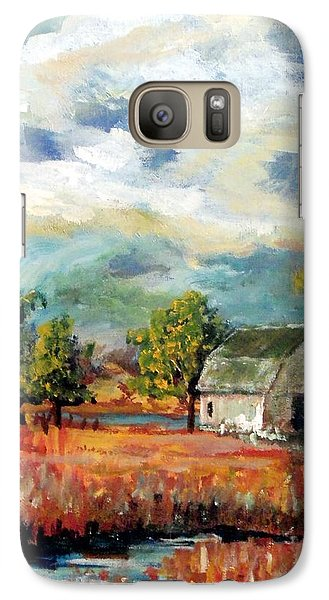Galaxy Case featuring the painting Old Home Place by Jim Phillips