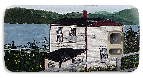 Galaxy Case featuring the painting Old House - If Walls Could Talk by Barbara Griffin