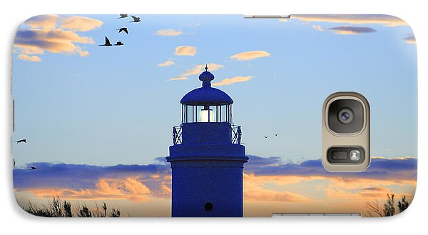 Galaxy Case featuring the photograph Old Lighthouse by Bernardo Galmarini