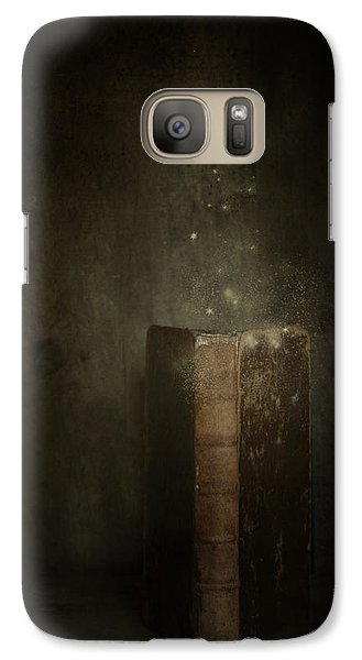 Galaxy Case featuring the photograph Old Magic Book by Ethiriel  Photography