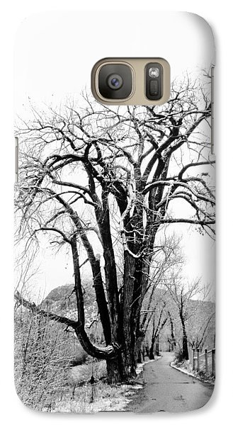 Galaxy Case featuring the photograph Old Man by Atom Crawford