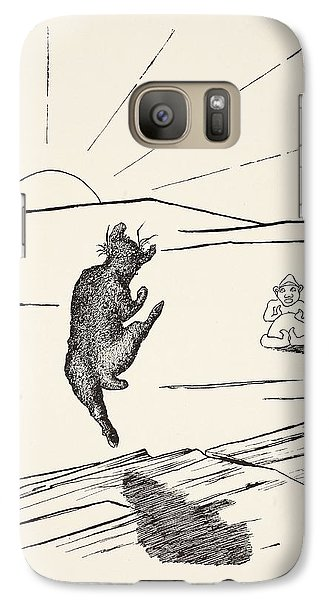 Old Man Kangaroo Galaxy Case by Rudyard Kipling