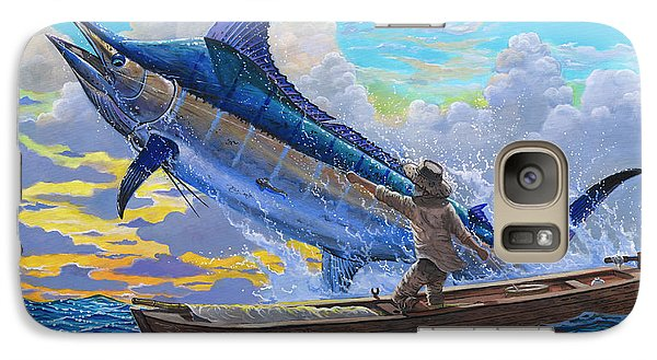 Old Man And The Sea Off00133 Galaxy S7 Case by Carey Chen