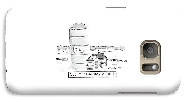 Old Martini Had A Farm Galaxy S7 Case
