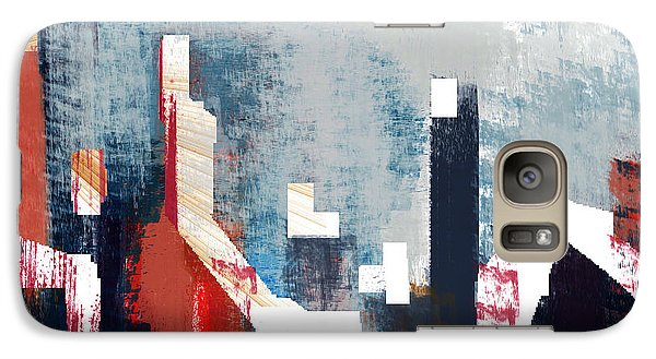 Galaxy Case featuring the digital art Old Miners Row by Andrew Penman