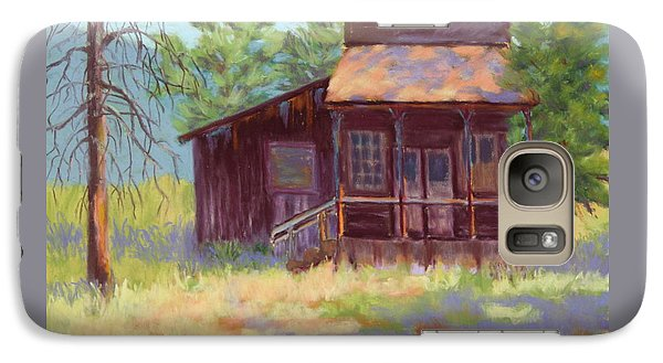 Galaxy Case featuring the painting Old Mining Store by Nancy Jolley