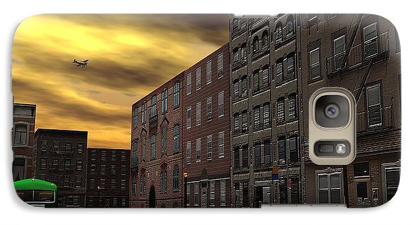 Galaxy Case featuring the digital art Old New York by John Pangia