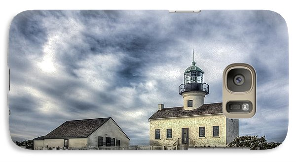Galaxy Case featuring the photograph Old Point Loma Lighthouse by Kelly Marquardt