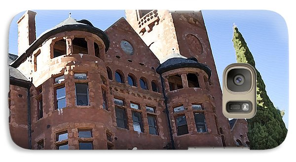 Galaxy Case featuring the photograph Old Preston Castle by David Millenheft