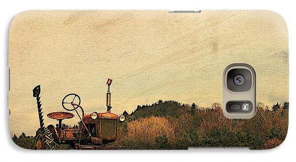 Galaxy Case featuring the photograph Old Red by Joan Davis