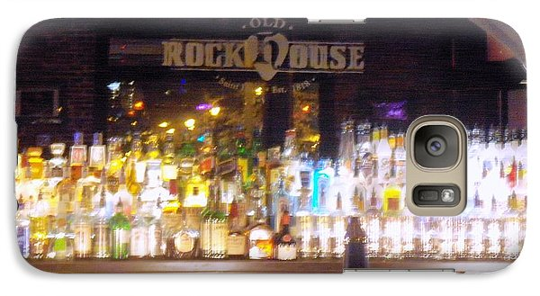 Galaxy Case featuring the photograph Old Rock House Bar by Kelly Awad
