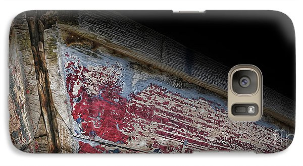 Galaxy Case featuring the photograph Old Rowboat by Lee Dos Santos
