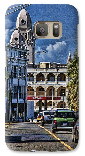 Galaxy Case featuring the photograph Old San Juan Cityscape by Daniel Sheldon