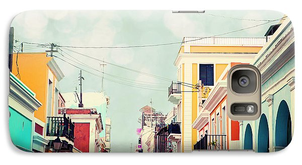 Galaxy Case featuring the photograph Old San Juan Special Request by Kim Fearheiley