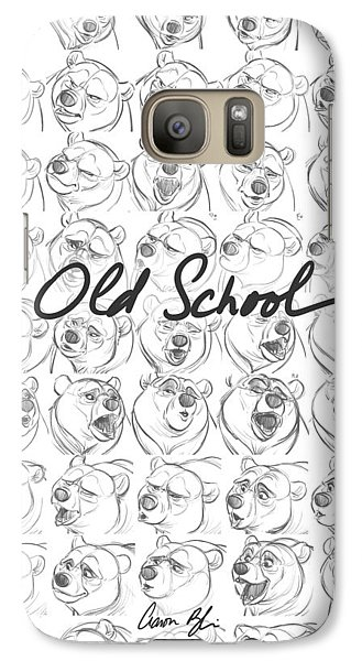 Galaxy Case featuring the digital art Old School by Aaron Blaise