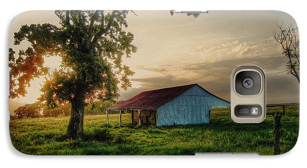 Galaxy Case featuring the photograph Old Shed by Savannah Gibbs