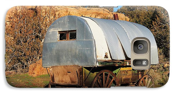Old Sheepherder's Wagon Galaxy S7 Case