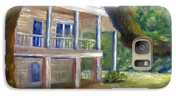Galaxy Case featuring the painting Old Southern Louisiana Mansion Plantation by Lenora  De Lude