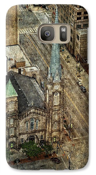 Old Stone Church Galaxy S7 Case
