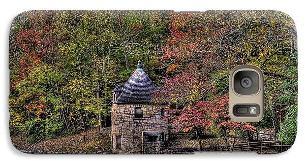 Galaxy S7 Case featuring the photograph Old Stone Tower At The Edge Of The Forest by Jonny D