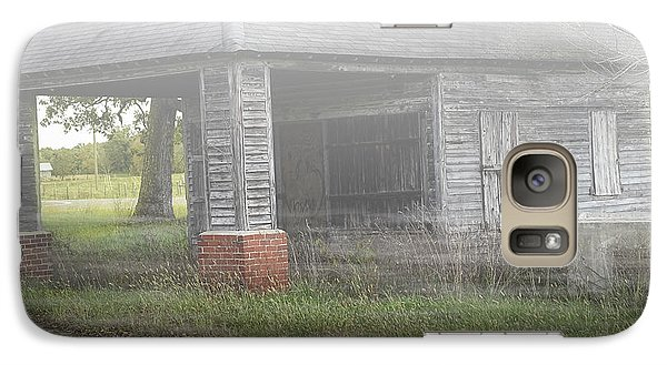 Galaxy Case featuring the digital art Old Store by Melissa Messick