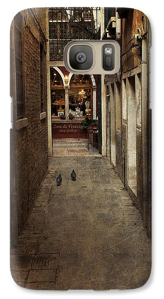 Galaxy Case featuring the photograph Old Street by Ethiriel  Photography