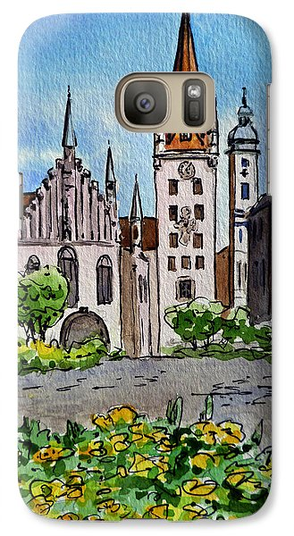 Old Town Hall Munich Germany Galaxy S7 Case
