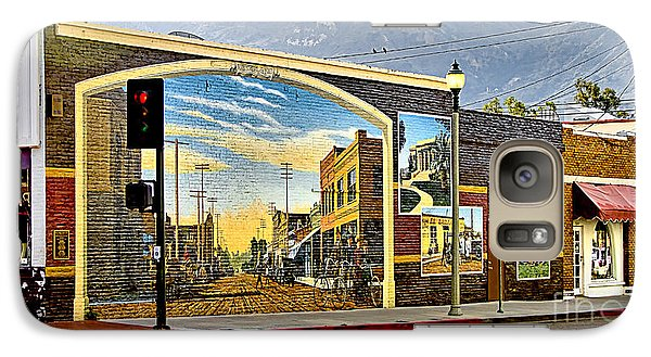 Galaxy Case featuring the photograph Old Town Mural by Jason Abando