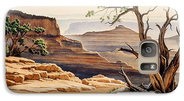 Old Tree At The Canyon Galaxy S7 Case by Paul Krapf