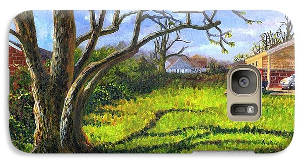 Galaxy Case featuring the painting Old Tree In The Morning Of Early Spring by Ping Yan
