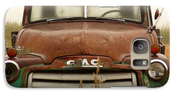 Galaxy Case featuring the photograph Old Truck by Steven Reed