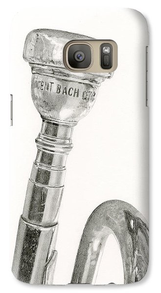 Trumpet Galaxy S7 Case - Old Trumpet by Sarah Batalka