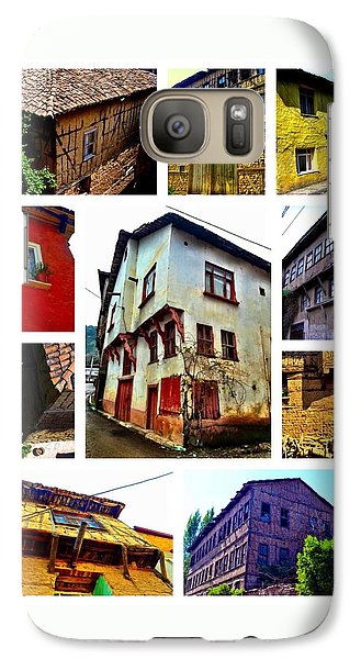 Galaxy Case featuring the photograph Old Turkish Houses by Zafer Gurel