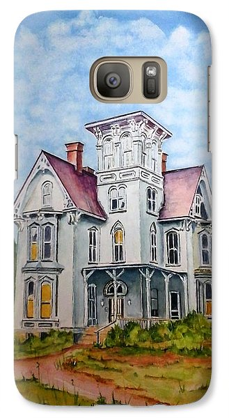 Galaxy Case featuring the painting Old Victorian House by Richard Benson