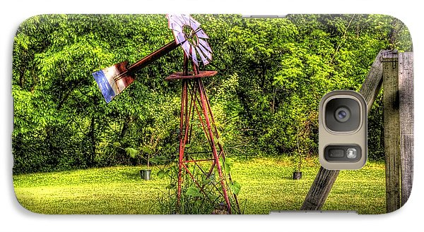 Galaxy S7 Case featuring the photograph Old Windmill by Jonny D