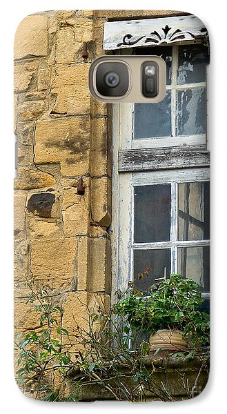 Galaxy Case featuring the photograph Old Window In France by Paul Topp
