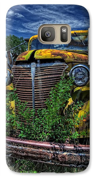 Galaxy Case featuring the photograph Old Yeller by Ken Smith