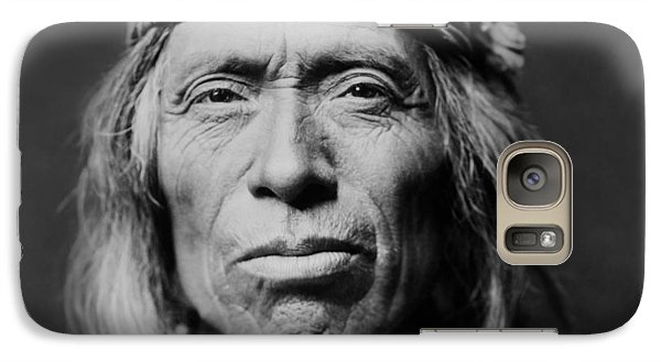 Portraits Galaxy S7 Case - Old Zuni Man Circa 1903 by Aged Pixel