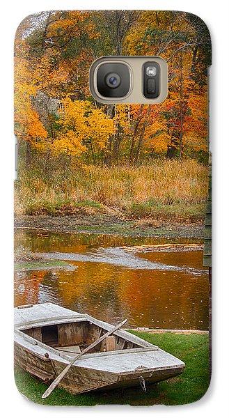 Galaxy Case featuring the photograph Olde Tyme Colors by Jeff Folger