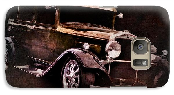 Vintage Car Galaxy Case featuring the photograph Oldie by Aaron Berg