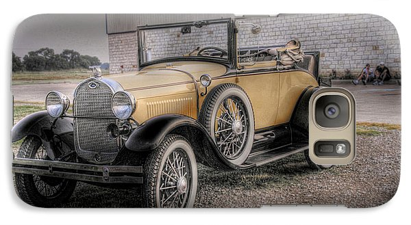 Galaxy Case featuring the photograph Old Ford Model A Coupe by Dyle   Warren