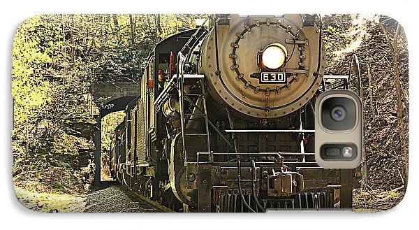 Galaxy Case featuring the photograph Ole' #630 Steam Train by Tammy Schneider