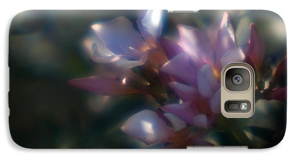 Galaxy Case featuring the photograph Oleander 2 by Travis Burgess