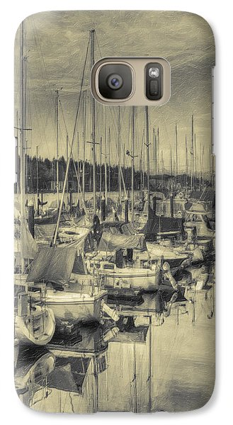 Galaxy Case featuring the photograph Olympia Marina 3 by Jean OKeeffe Macro Abundance Art